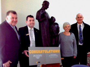 Commonwealth Bank support the Dunlea Centre Life Skills program