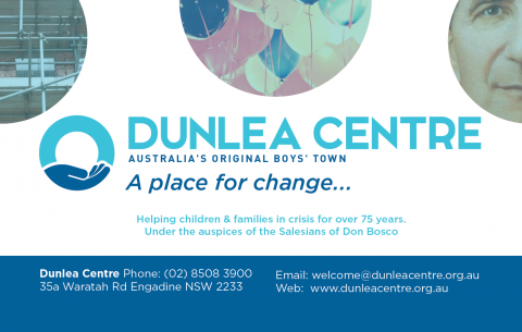 75th Anniversary Dunlea Centre