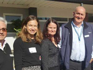 Toyota & Schools Plus visit Dunlea Centre.