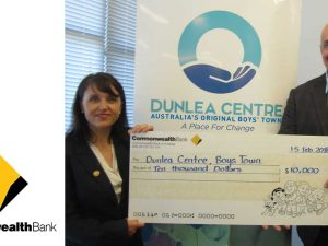 The Commonwealth Bank Supports Dunlea Centre