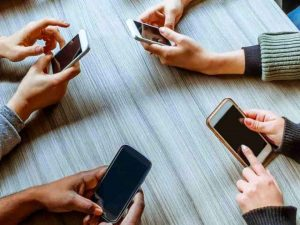 MOBILE PHONE USE  – How much is too much ?