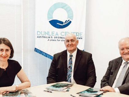 Premier of New South Wales, Gladys Berejiklian Visits Dunlea Centre!