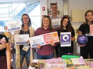 Dunlea Centre celebrates International Women's Day.