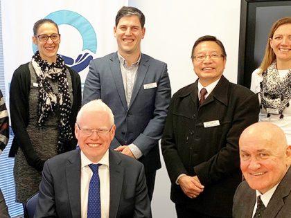 The Honourable Gareth Ward MP and Mr Lee Evans MP visit Dunlea Centre