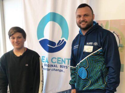 Beau Champion Visits Dunlea Centre