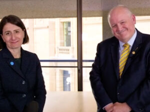 Mental Health Month Ends With Honourable Gladys Berejiklian & MrLeeEvans MP