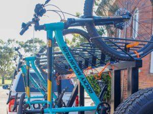 Dunlea Centre Gives Their New Mountain Bike Trailer A Run